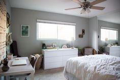 san diego home tour // bedroom