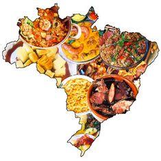 Culinária Brasileira: Comidas típicas das Regiões Brasileiras