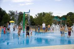 Atlanta's Splash Fountains, Water Playgrounds and Spraygrounds: City of Roswell Spraygrounds