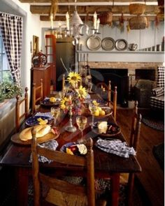 Harvest Table & Ladderback Chairs
