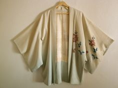 I saw real Vintage Kimono Robes in New Orleans and I fell in love with them.