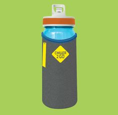Chiller2Go® 700mL Drink Bottle Suit Fabric, Drink Bottles, Dishwasher, Seal, Water Bottle, Plastic, Cleaning, Cold, Future