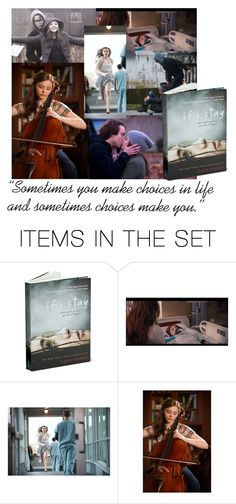"""""""If I stay - book"""" by hangar-knjiga ❤ liked on Polyvore featuring art, books and IfIStay"""