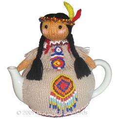 INDIO nativo americano con bebé tetera pdf por HandMadeAwards, $4.50