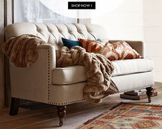 pottery barn - does it come as a small sectional?