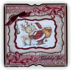 Hos StampARTic har vi vært så heldige å bli sponset med de aldeles nydelige nye julepapirene fra Maja Design . I to dager vil det være kose...