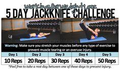 5 Day Jackknife Challenge