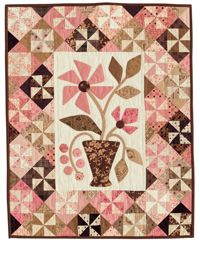 Cute wall hanging with applique