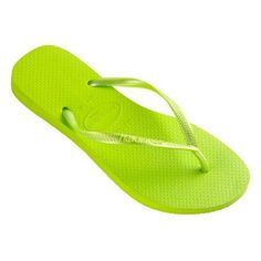 4993cd094e65c7 Havaianas Slim - bright green  lt 3 Green Flats