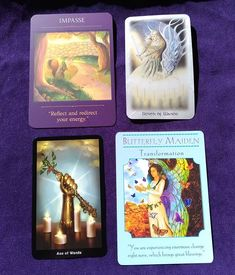 Is the answer you need today waiting in one of the cards? Are you ready to act on it?  Sometimes that's the hardest part taking on board and acting on the answers and wisdom we are given.