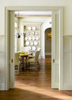 Details in millwork, trim, floors etc. were all carefully selected and managed by DMMA, in order to create a backdrop that was both practical and historically relevant.