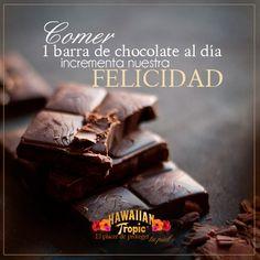 Comer chocolate incrementa la felicidad