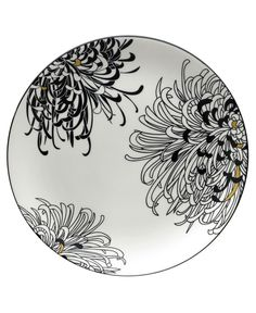 Monsoon Dinnerware Collection by Denby, Chrysanthemum Round Platter