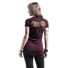 T-Shirt Manches courtes Rock Rebel by EMP »Original Sinners Burnout«    Dispo chez EMP   Plus de Manches courtes Basic sur notre site en ligne f3dd53715ade