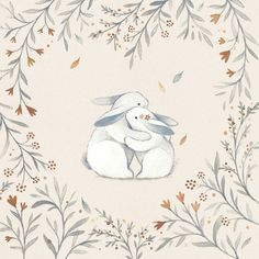 ❤ Woodland Valentine ❤ on Behance design illustration behance ❤ Woodland Valentine ❤ Hug Illustration, Valentines Illustration, Animal Drawings, Cute Drawings, Hugging Drawing, Lapin Art, Bunny Art, Cross Paintings, Illustrations And Posters