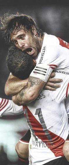Abrazo de goleadores #Cavenaghi #Saviola #River