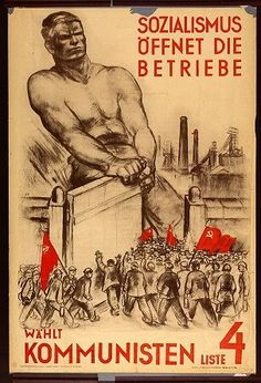 "KPD, 1930 ""Socialism opens the business vote for the communists"""