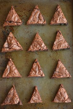 Easy christmas tree brownies recipe christmas tree brownies brownies diy do it yourself solutioingenieria Gallery