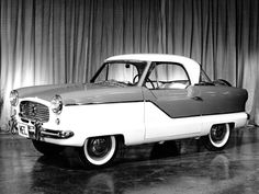 "levon76: ""masterpiston: ""1953 Nash Metropolitan. "" Built in England by Austin, imported into the USA by Nash, later American Motors. """