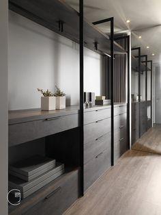 Walk In Closet Design, Bedroom Closet Design, Wardrobe Design, Closet Designs, Home Bedroom, Wardrobe Room, Wardrobe Cabinets, Modern Minimalist Bedroom, Home Interior Design