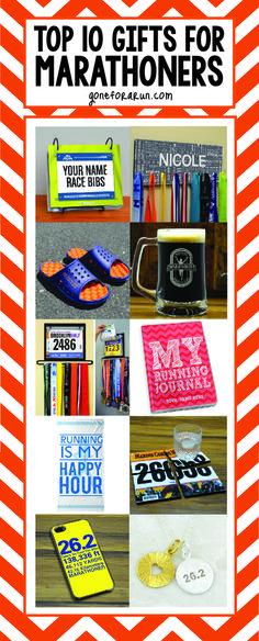 Perfect running gift ideas for marathoners! goneforarun.com