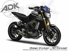 Tuning/AD Koncept : une Yamaha MT-09 en mode Ohlins - AD Koncept - MT-09 - Ohlins - Roadster - Tuning - Yamaha - Caradisiac Moto - Caradisia...