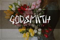 Godsmith Typeface by Template Olympus on @creativemarket