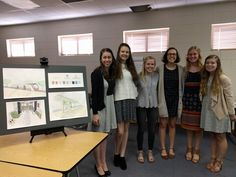 For the past four months, students in French 4/5 have been working on an intense group project. Their final product includes a feasibility report, a proposal, professional-quality artist renderings and a Google slide presentation for a tramway system in Augusta.They have presented the proposal three times publicly, including a personal presentation to Mayor Hardie Davis, Jr.