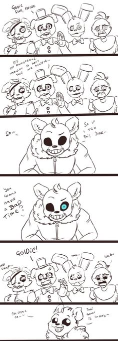 Fnaf and Undertale