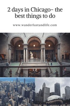 If you are looking to spend 2 days in Chicago then checkout our guide to the best tourist attractions. For our weekend in Chicago we enjoyed some amazing food and visited the best sights. This is our 2 day Chicago itinerary to help you plan your own trip. Chicago Usa, Chicago Travel, Travel Usa, Chicago Girls, Chicago Trip, Adventures Abroad, Ultimate Travel, Weekend Trips, Travel Advise