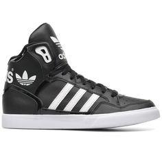 reputable site 2b5d4 2bb94 Amazon.com Adidas Extraball W Black White Womens Trainers Shoes