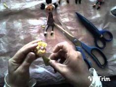 Broches de goma eva