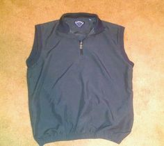 Callaway Golf Men's Navy Blue Vest Size Medium #Callaway