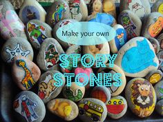 make your own story stones - happy hooligans