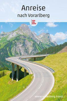Vorarlberg ist auf allen Wegen und mit allen Verkehrsmitteln gut erreichbar. Der öffentliche Nahverkehr ist sehr gut ausgebaut. Bahn- und Busverbindungen sowie die Tarife sind im Vorarlberger Verkehrsverbund abgestimmt, ähnlich wie in einer Großstadt. In manchen Regionen verkehren zusätzlich zu den Linienbussen Wanderbusse. Im Kleinwalsertal fahren Gäste gratis mit dem Walserbus. Bodensee-Schiffe verbinden im Sommer die internationalen Länder am Bodensee. #visitvorarlberg #myvorarlberg Bahn, Country Roads, Mountains, Nature, Travel, Ships, Travel Advice, Vacation, Naturaleza