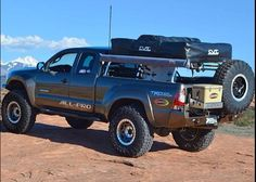 Top 8 Excellent and Powerful Toyota Tacoma Camping Pictures Gallery - Awesome Indoor & Outdoor Toyota Tacoma 4x4, Tacoma Truck, Toyota Hilux, Toyota Tundra, Lifted Tacoma, Overland Tacoma, Overland Truck, Expedition Vehicle, Toyota Autos