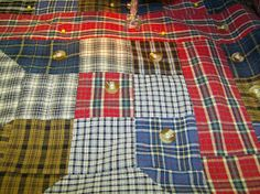 Life is a Stitch: Seven Shirts + Seven Steps = One Thrifty Quilt