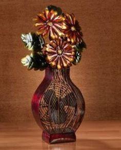 Deco Breeze DBF0364 Flower Vase Figurine Decorative Electric Fan