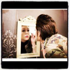 Summerset Salon & Day Spa Flint, MI Beautiful gal with great style,  touching up her lashes... Summersetsalon.com