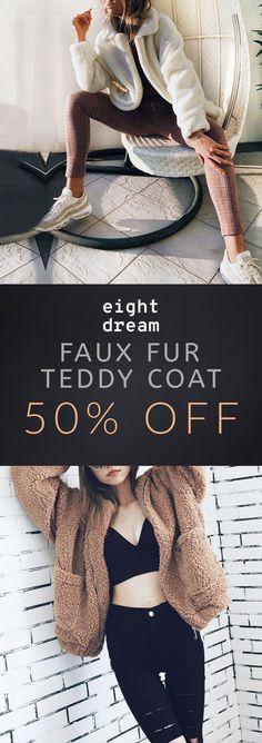 Perfect Posture, Teddy Coat, Exotic Women, Casual Looks, Classic Style, Faux Fur, Super Cute, Cozy, Seasons