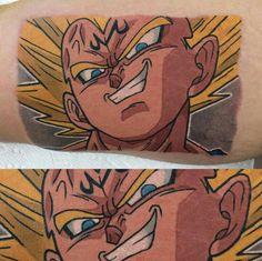 Majin vegeta Dbz, Tattoos, Tatuajes, Tattoo, Tattos, Tattoo Designs