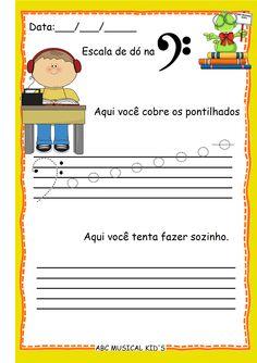 ATIVIDADES DE EDUCAÇÃO INFANTIL  E MUSICALIZAÇÃO INFANTIL: Atividades de Musicalização
