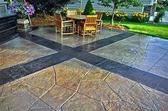 58 Best Concrete Patio Ideas Images