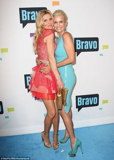 'I kind of wanted her to go back, but she chose not to and that's up to her:' Brandi Glanville opened up about Yolanda Hadid's departure from Real Housewives of Beverly Hills in an interview with The FIX this week