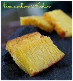 Indonesian Medan Food: Bika Ambon Medan