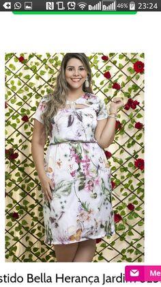 Moda evangelica vestido plus size
