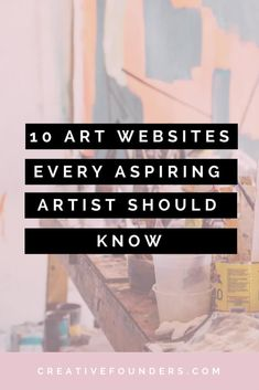 creative art 10 Art Websites Every Aspiring Artist Should Know. Sell My Art, Selling Art Online, Online Art Store, Online Art Classes, Artist Life, Art Tips, Art Therapy, Art Market, Art Techniques