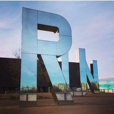 RUN by Monica Bonvicini. Recent trip to #London #publicspace  @CDWfestival  via @heathpedrola