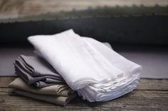 Linen napkins from Coyuchi | Remodelista