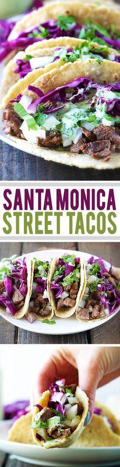 Santa Monica Street Tacos | lecremedelacrumb.com